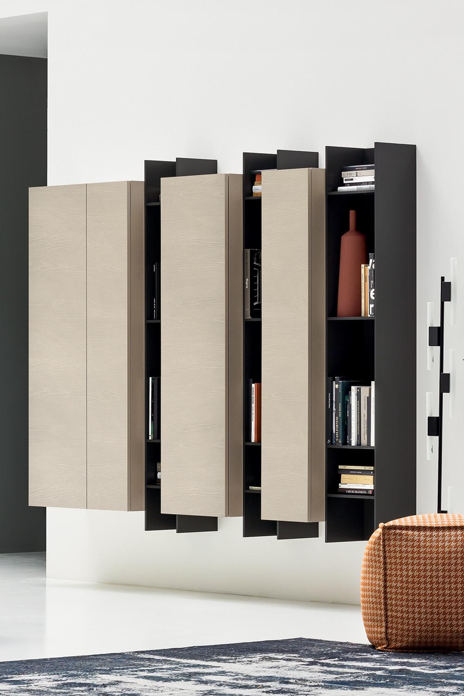 Soggiorni linea casa arredamento for Immagini librerie d arredamento