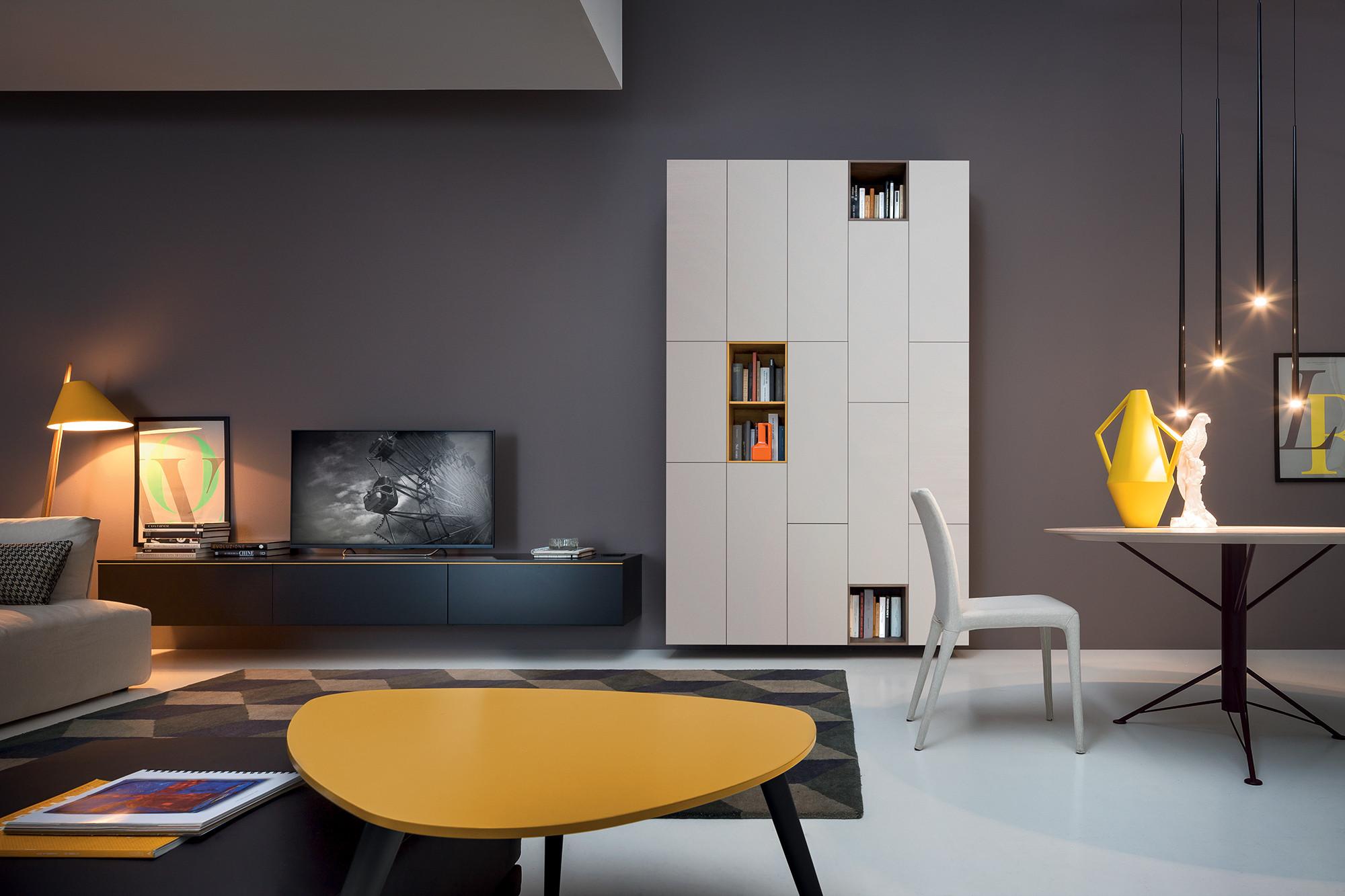 tavoli e sedie | linea casa arredamento - Libreria Novamobili Soggiorno 2